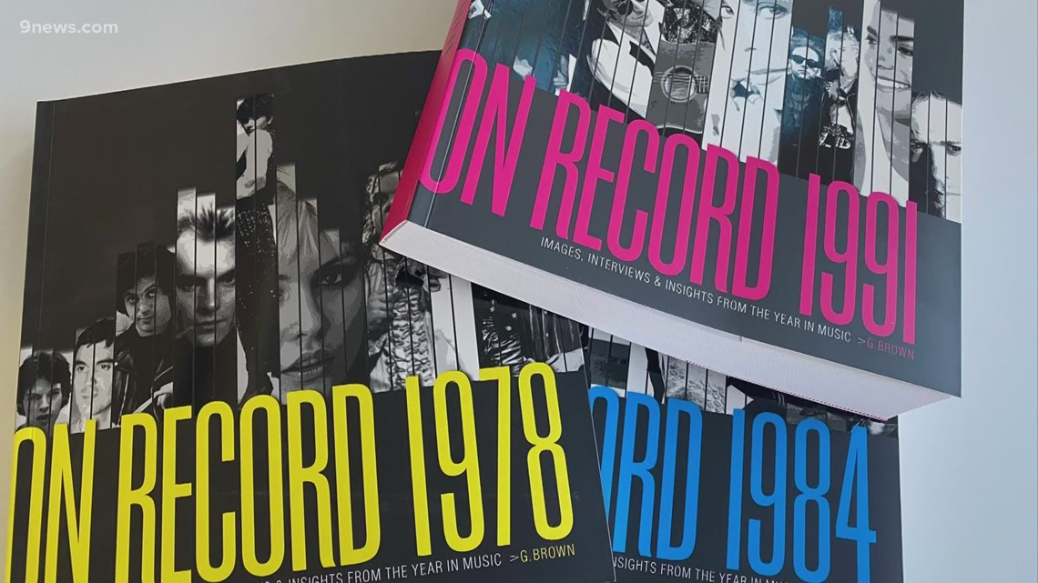 Rock historian shares Colorado music history in new books