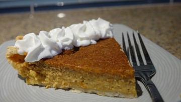 Make this light and fluffy pumpkin pie for Thanksgiving