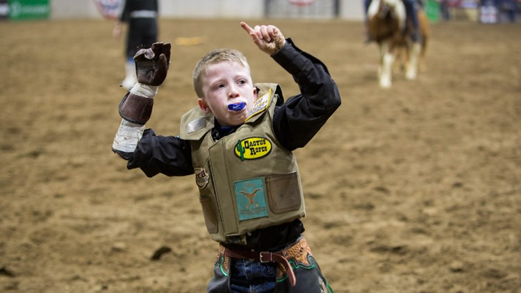 National Western Stock Show rodeo kid
