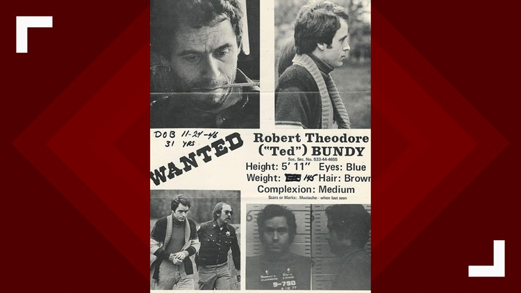 Local Ted Bundy wanted poster