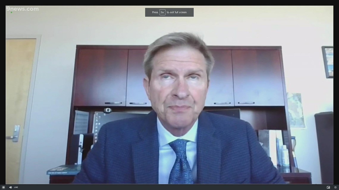 RAW: Aurora police, fire chief discuss findings of Elijah McClain independent report