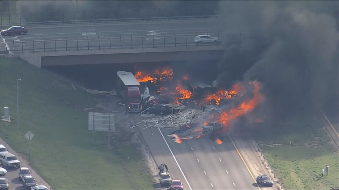 4 people killed in fiery crash on I-70, semi driver arrested