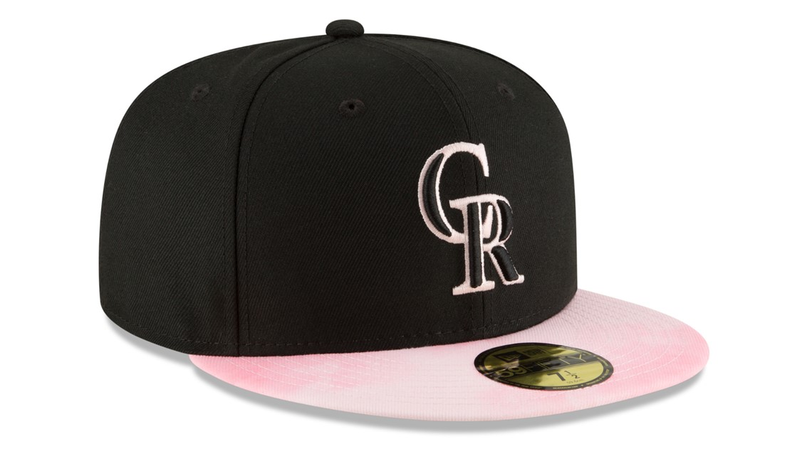 17ea232950864 Here s your first look at the holiday caps the Rockies will wear in ...