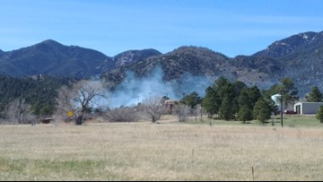 Evacuations lifted for wildfire south of Colorado Springs