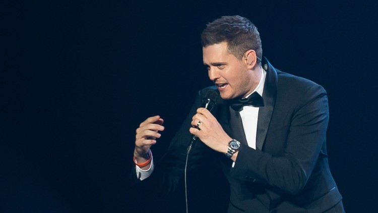 Michael Buble In Concert - NY