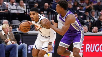 Nuggets remain undefeated with 101-94 win over Kings