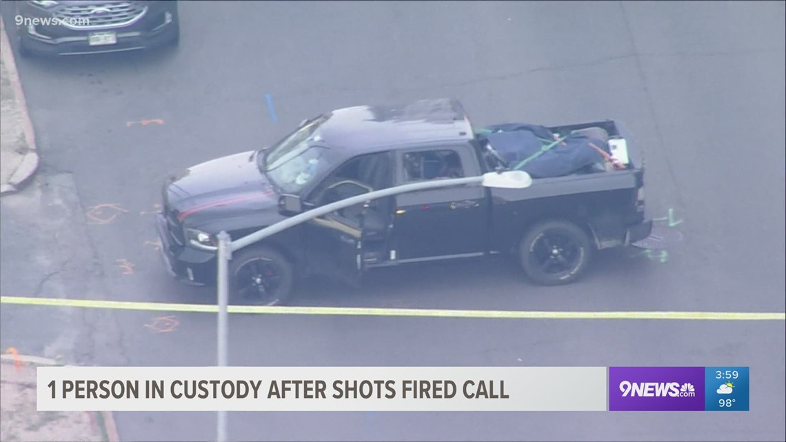 Police investigate shots fired in downtown Denver