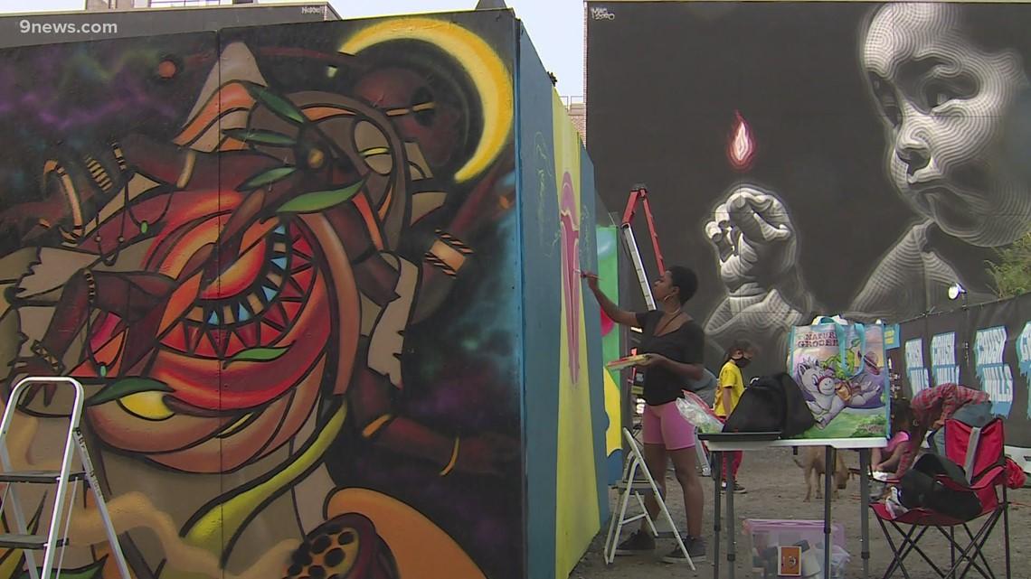 Crush Walls, a popular art festival, goes on in RiNo despite pandemic