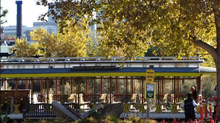 Denver Tramway Heritage Society Trolley