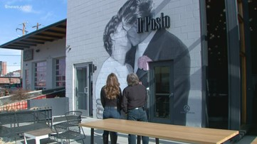 The story behind the mural outside Il Posto Italian restaurant