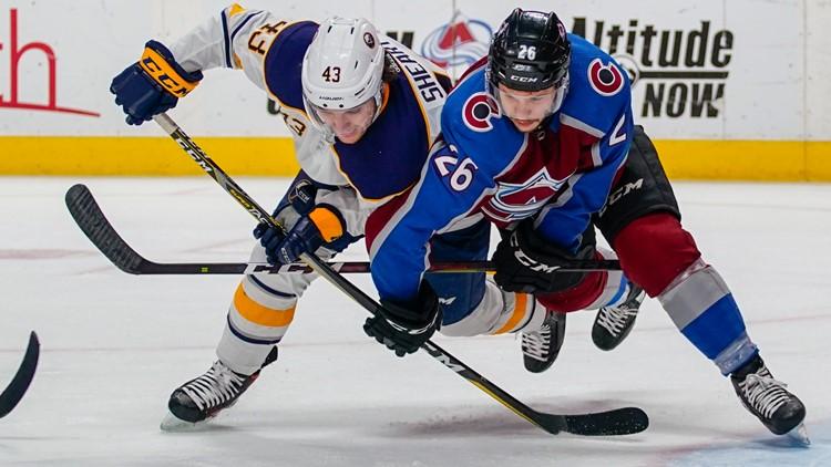 Sabres Avalanche Hockey