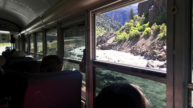 Hanging Lake Bus
