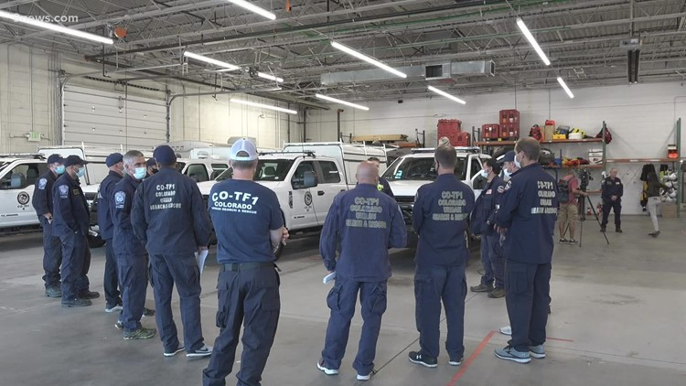 Colorado Task Force 1 activated for Hurricane Ida search and rescue