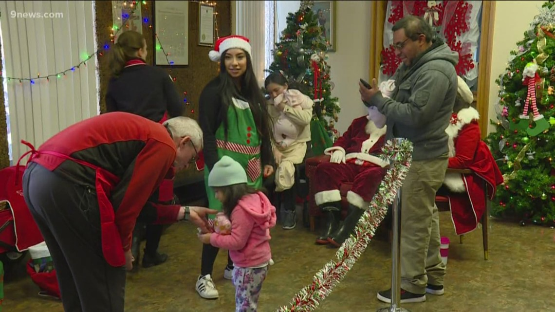 Father Woody Christmas Party celebrates 38 years of giving meals and gifts
