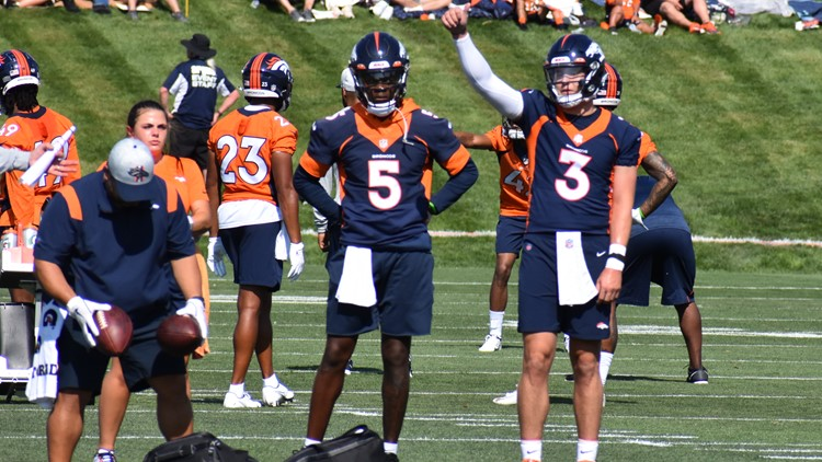 Broncos QB competition ends Day 7 in pick-pick deadlock
