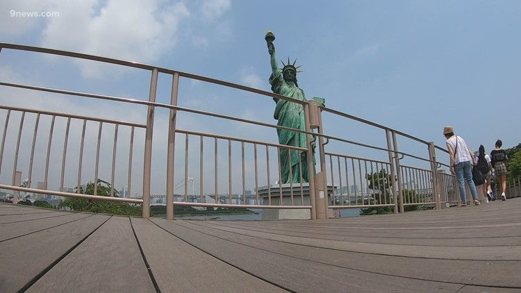 Here's how Japan ended up with a Statue of Liberty