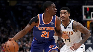Jokic's triple-double helps Nuggets beat Knicks 115-108
