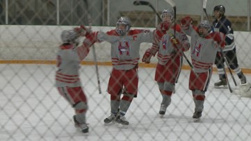 Heritage hockey clinches league title with win over Columbine