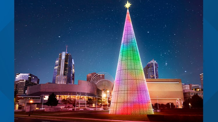 Denver's Mile High Tree will stay lit up through January