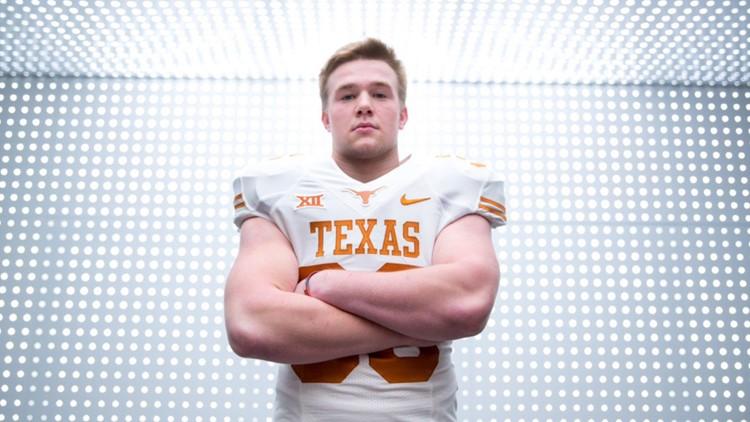 Texas linebacker Jake Ehlinger found dead in Austin, police say