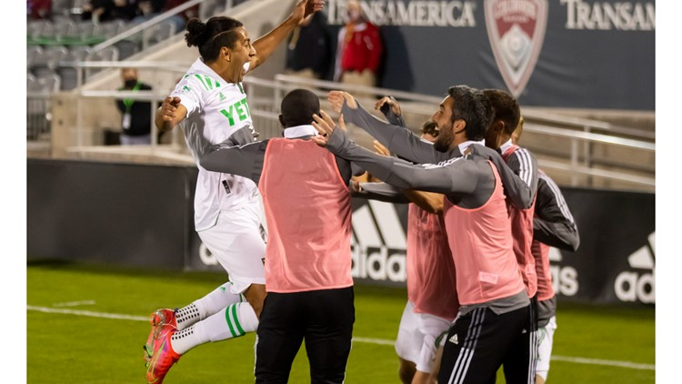 Austin FC tops Colorado Rapids, 3-1, secures first win in franchise history
