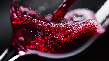 Nearly 100K gallons of red wine spills into California river