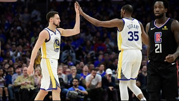 Klay Thompson says on social media he is staying with Warriors