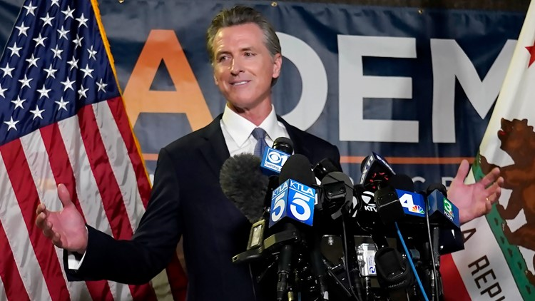 'Let's get back to work': Newsom staves off California recall election