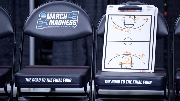A coaches clipboard is seen before the Butler Bulldogs take on the Texas Tech Red Raiders in the first round of the 2016 NCAA Men's Basketball Tournament at PNC Arena on March 17, 2016 in Raleigh, North Carolina.