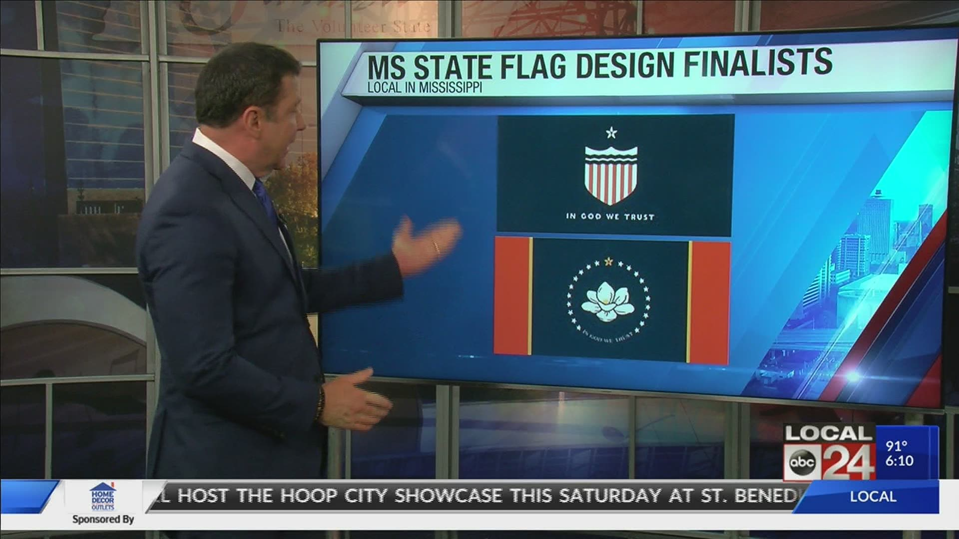 Magnolia Could Replace Old Rebel Symbol On The Mississippi Flag 9news Com