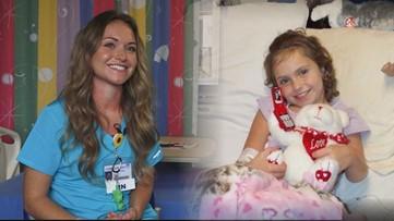 Nurse accomplishes lifelong dream of being a nurse after battling leukemia