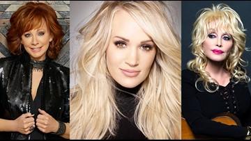 Dolly Parton, Reba McEntire & Carrie Underwood to host 2019 CMA Awards