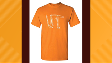 High demand for Florida boy's UT T-shirt design crashes server