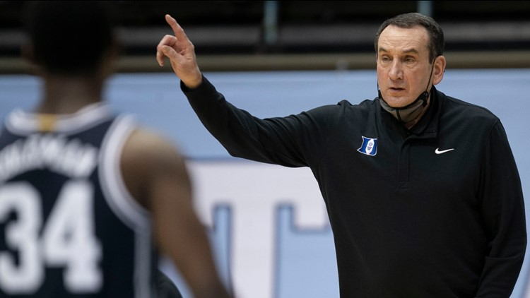 'I've been a lucky guy': Duke basketball coach Mike Krzyzewski to retire after this season