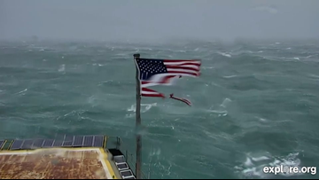 Company to donate American Flag to Frying Pan after Hurricane Florence batters Old Glory