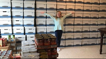 9-year-old raises enough money to buy 108 Thanksgiving meals and turkeys for families in need