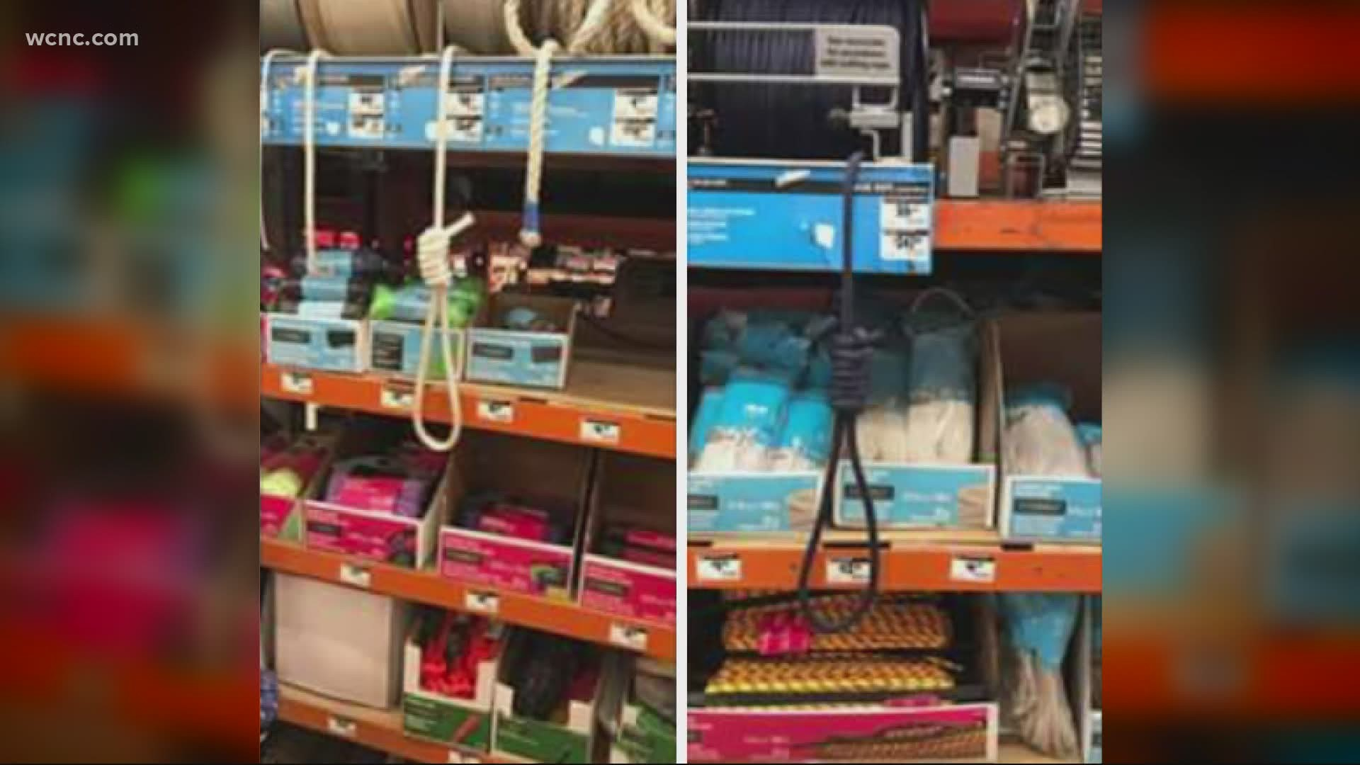 Charlotte Woman Says She Discovered Nooses Hanging In Home Depot 9news Com