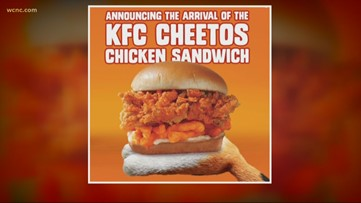 KFC launches limited-time Cheetos Chicken Sandwich