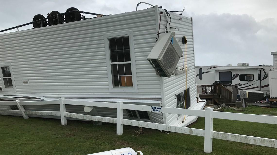 Governors touring Hurricane Dorian storm damage in Carolinas