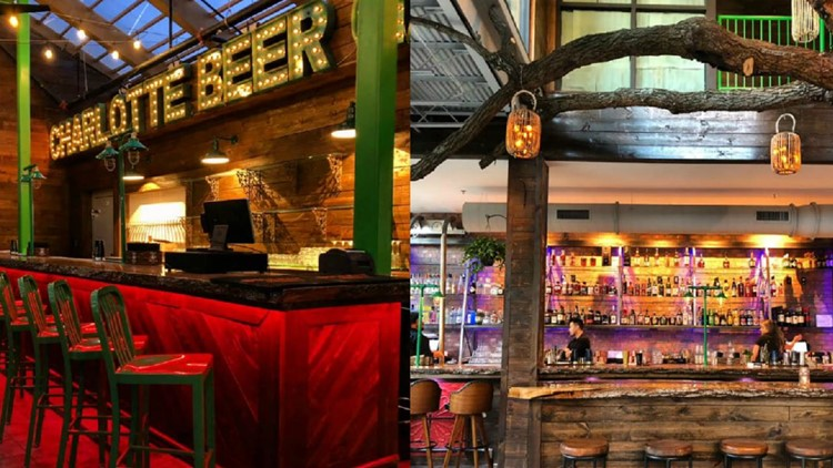 Drink beer in a treehouse at the world's biggest beer garden