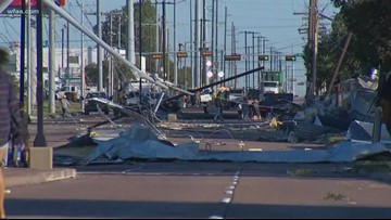 Tornado rips through North Dallas; Over 110,000 without power early Monday