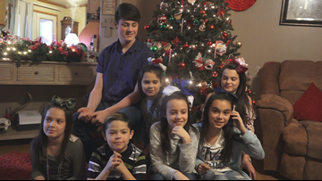 Arkansas couple adopts 7 siblings ahead of Christmas