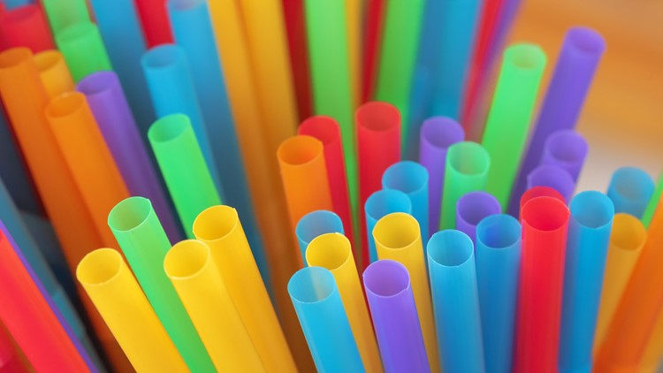 Plastic straws banned in Maine's largest city