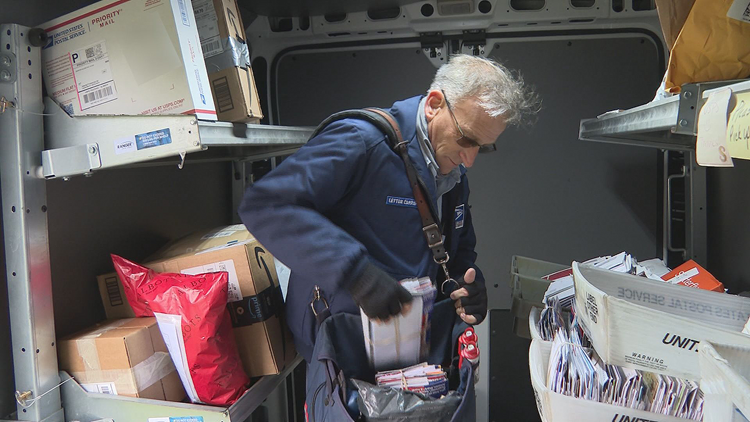 'This is like my Super Bowl': Mail carriers work around the clock to deliver packages