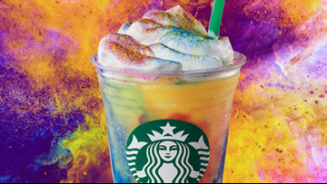 Starbucks launching Tie-Dye Frappuccino on Wednesday