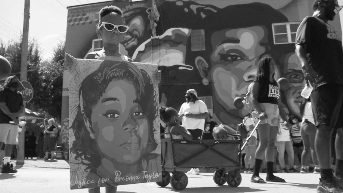 Until Freedom Continues Fight For Breonna Taylor During Rally 9news Com