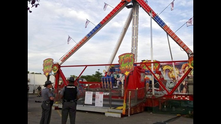 Safety Inspector says corrosion on the Fireball at Ohio State Fair was severe