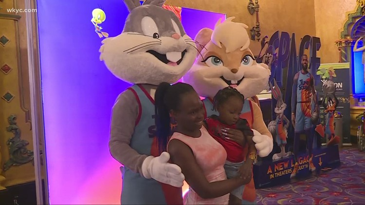 'Space Jam: A New Legacy' premieres in Ohio