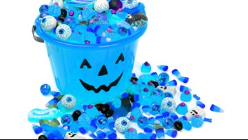 Facebook post encourages blue Halloween buckets to raise autism awareness