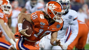 Clemson wins ACC title with 62-17 thrashing of Virginia